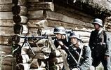 二戰中罕見的德國士兵彩照,還原真實的二戰場景!