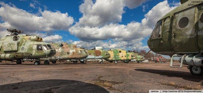 俄羅斯米里直升機墳場