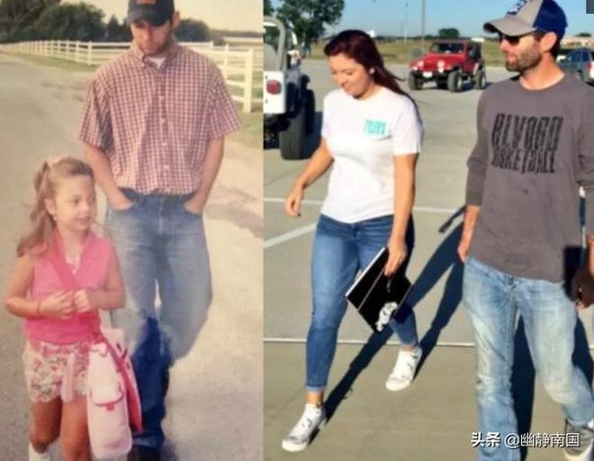 帥爸爸分享送女兒上學的照片爆紅,13年過去了顏值幾乎未變