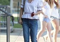 好萊塢女星娜塔莉波特曼紐約街拍,網友:帆布鞋都開膠了還在穿