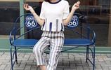 同事講我最近瘦了,多虧剛買的棉麻闊腿褲套裝,減齡又有女人味