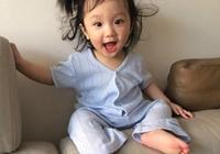 什麼樣的神仙顏值父母才能生出這麼可愛的孩子,網友:隨她媽
