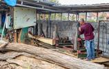 12米木船純手工打造一週可完工價值7萬元可用15年 手藝面卻臨失傳