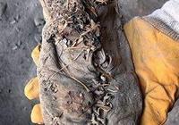 考古發現5500年前的皮鞋