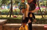 蕾力父女再次同框!這次還有安吉和小魚兒!董粑粑帶娃技能升級了