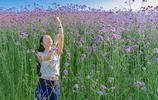 在福州等好天氣拍照真難,五一假期總算有了,來個人比花美