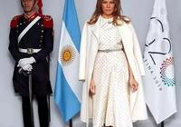 梅拉尼婭終於不穿大衣長裙,三千紅格子襯衣配瘦腿褲秀腿,太減齡
