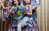 鍾麗緹社交平臺狂晒家庭合照,一家人搞怪有趣,盡顯幸福美滿