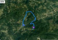 造水穿越芹山過沙溪水庫下汪前路線GPS軌跡
