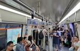 實拍晚高峰,鄭州地鐵5號線沒想到?