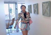 包文婧到底要多美?當她將短褲反過來穿時,網友:解鎖新潮流!