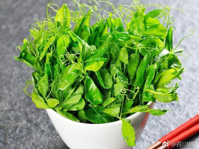 從豌豆尖開始的川菜