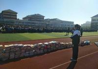滄州渤海新區志願者為山區孩子捐書4000餘冊