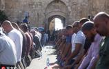 穆斯林耶路撒冷獅門外禱告 與以色列士兵爆發激烈衝突