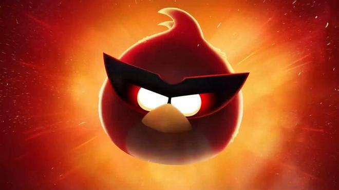 憤怒的小鳥遊戲桌面壁紙