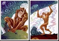 盤古開天闢地,之後都產生了哪些神仙?