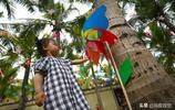 六一兒童節來了,三亞這個景區風車世界色彩斑斕,童趣十足