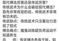 王知亮指出,傳統武術實戰差勁但可以養生,自由搏擊就不會養生