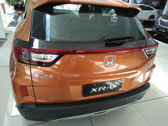 4S店實拍東風本田XRV,小型SUV中的典範,你怎麼看?
