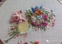 手工刺繡:春天的少女