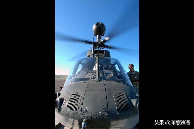 OH-58 Kiowa Warrior進行武裝偵察機