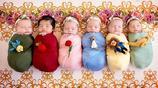 超受歡迎的「迪士尼小公主」系列初生嬰兒攝影作品,六組照片非常可愛