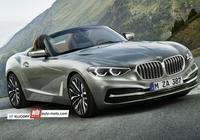 BMW Z5敞篷跑車效果圖曝光