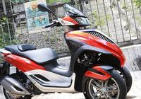 2017 Piaggio MP3三輪摩托車