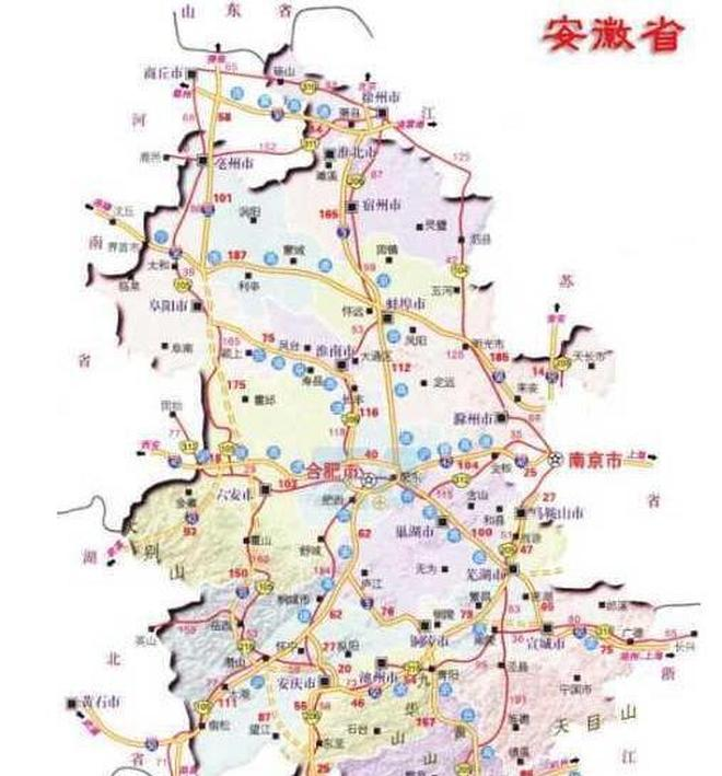 安徽這條高速被列重點工程,今年開工,沿途10市縣,有你家嗎?