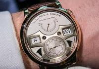 朗格 貓頭鷹 143.050腕錶 白色錶盤 自鳴腕錶