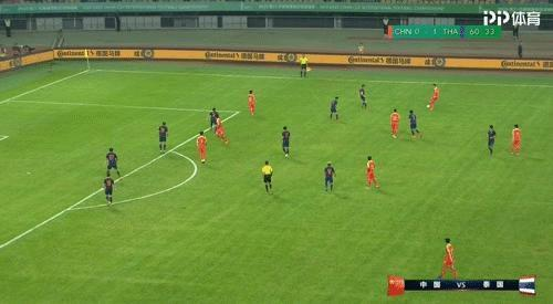 又踢養生足球?國足23歲新星散步看完隊友進攻,他剛上場15分鐘