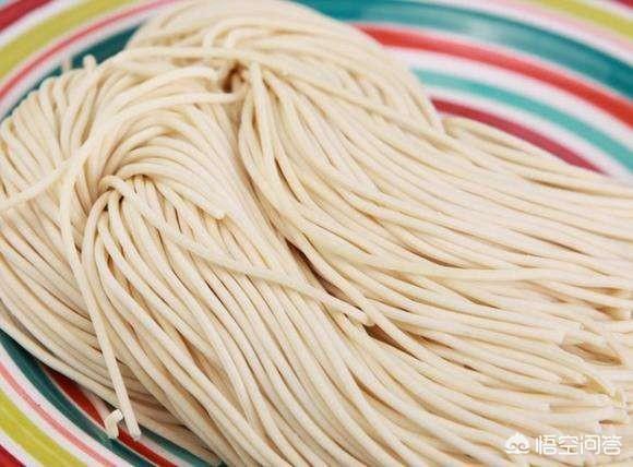 市場裡賣的鮮麵條與家裡做的有什麼區別嗎?