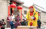 河南安陽:大黃灘村舞獅子,每年能掙300多萬元