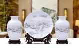 景德鎮陶瓷擺件,放在客廳或送人都可以,大氣有面子,寓意極好