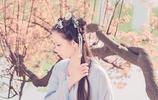 圖蟲人像攝影:十里桃花霞滿天,玉簪暗暗惜華年