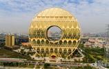"""實拍""""世界最大的金環"""",33層高,耗資10億,10萬元徵名,引熱議"""