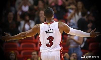 NBA球星對位數據分析——德維恩 韋德