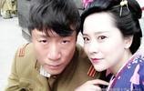 39歲海清拍戲照片曝光