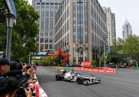 F1賽車駛上上海街頭