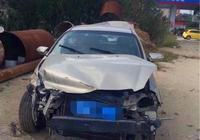 一輛別克凱越事故車花兩千入手,準備維修,師傅:眼光真好