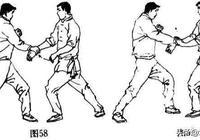 擒拿術:抓手摺腕法和夾肘折腕法