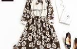 現在潮人都喜歡穿這樣有氣質的連衣裙,走在街上回頭率超高