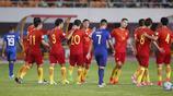 2017足球友誼賽:中國男足8-1菲律賓 國足7人破門獲大勝