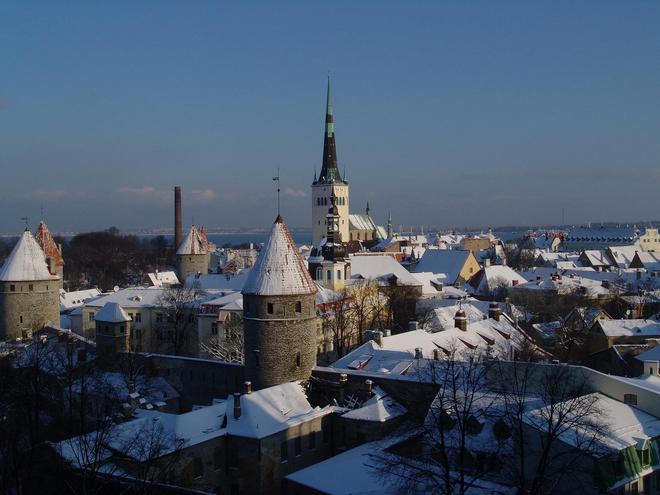 愛沙尼亞城市風景鑑賞 之 塔林