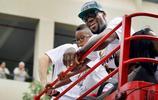 NBA老照片 邁阿密熱火NBA總冠軍遊行