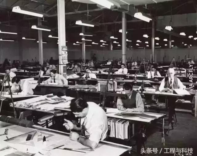 在沒有電腦、沒有CAD的年代,建築設計師們是如何畫圖的?