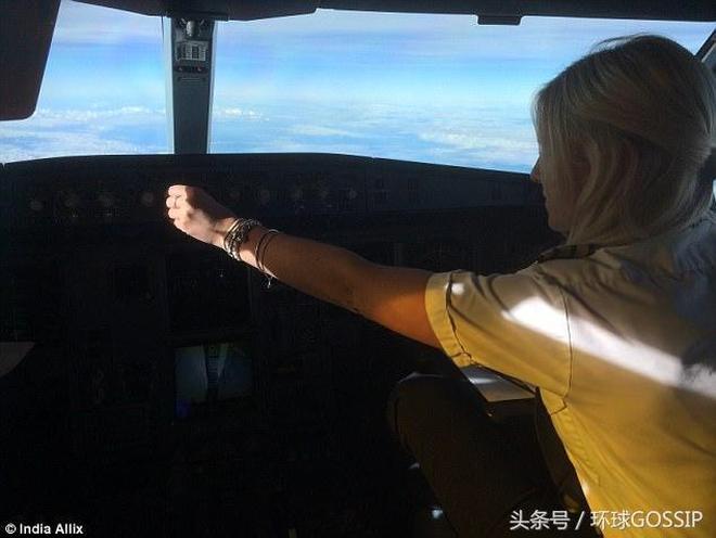 圍觀女飛行員長途飛行,顏值,愛心,飛行技術,靠山老爸,她都有
