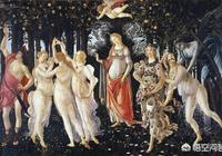 顧愷之的《洛神賦圖》與波提切利的《春》進行比較,兩者的藝術架構有什麼區別?