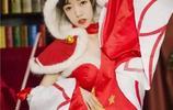 王者榮耀cosplay:絕美貂蟬,聖誕戀人下的呼喚,你不要來嗎?