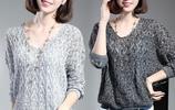 去年針織衫別再穿了,今年都流行這樣的針織襯衫,穿上女人味十足